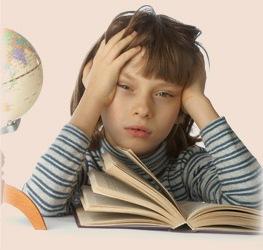 Більше 5% школярів стра¬жда¬є від не¬спроможності до навчання, ко¬тра про¬яв¬ля¬єть¬ся в складностях сприйняття усної мови і пись¬ма.
